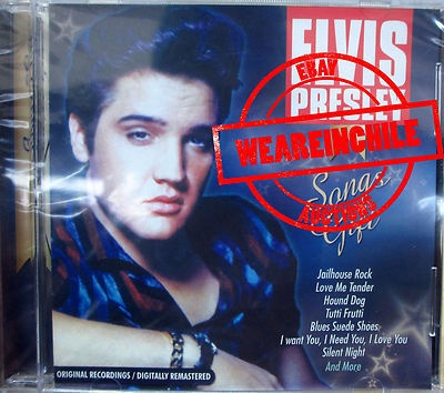 Elvis Presley made in Chile Song Gifts cd