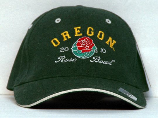 University of Oregon Ducks Football 2010 Rose Bowl Hat Embroidered Cap NWT SN (2)