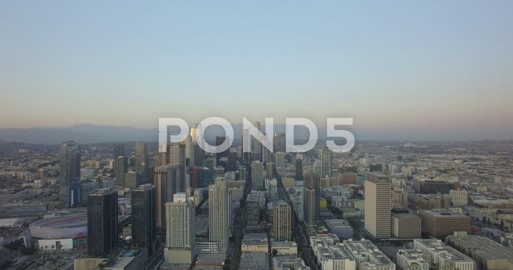 Aerial Drone Of Downtown Los Angeles Skyline 4k Stock Footage Ad Downtown Los Aerial Drone Aerial Drone Los Angeles Skyline Downtown Los Angeles