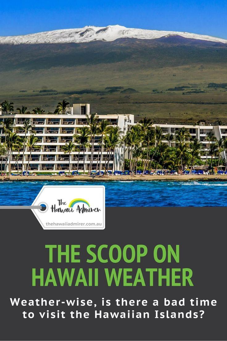 THE SCOOP ON HAWAII WEATHER | Best of Hawaii Admirer