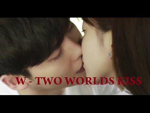 W - Two Worlds Lee Jong Suk kissing scene