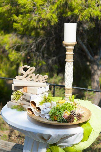 Στολισμός τραπέζι ευχών ρουστικ στυλ, στολισμός γάμου