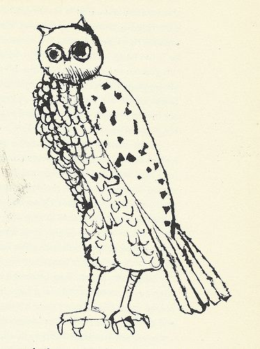 "9: ""Owl"" by Ben Shahn by Scott Lindberg, via Flickr"