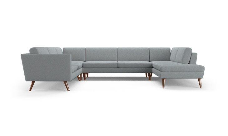 Deluna U-Sofa Bumper Sectional