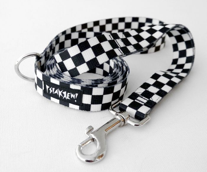 Smycz dla Psa Checker szerokość 2 cm – Cena | sklep internetowy Psiakrew