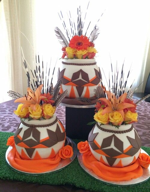 Pots Wedding Cake