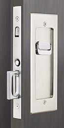 EMT-2115-PRIVACY | Emtek Modern Solid Brass Mortise Pocket Door Privacy Latch | thehardwarehut.com