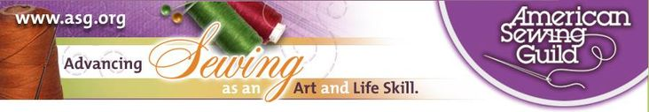 American Sewing Guild advancing sewing as an art and life skill