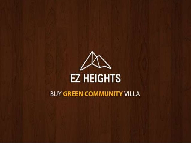 Buy Green Community Villa through EZ Heights – A Place Where Living Comes Naturally  Green community is the most sought after community in Dubai. A gated community where there is security – you will need a gate pass or the invitation of a resident to come through the gate.  For more information please visit the link mention below:- http://www.slideshare.net/villaauctionsuae/buy-green-community-villa-through-ez-heights-a-place-where-living-comes-naturally