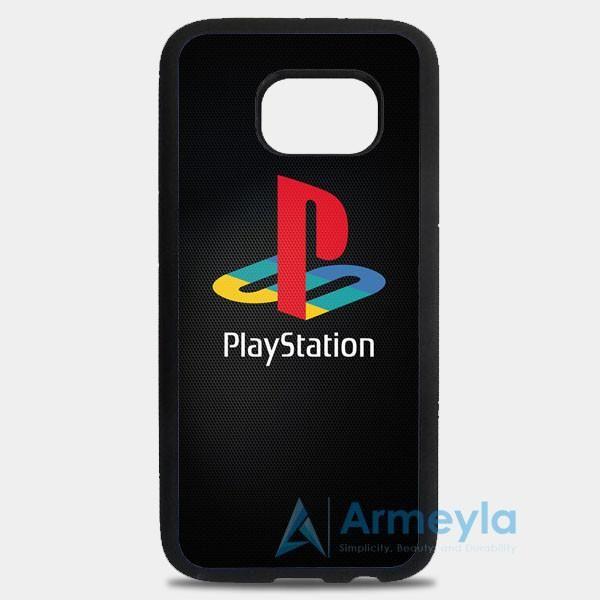Sony Playstation Logo Dark Samsung Galaxy S8 Plus Case | armeyla.com