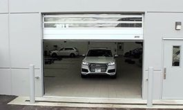 MA - Case Study - High-Speed Service Doors: Doors keep things moving for Audi dealership