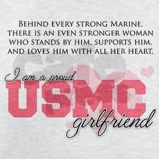 The Marine girlfriend life. Wouldn't have it any other way