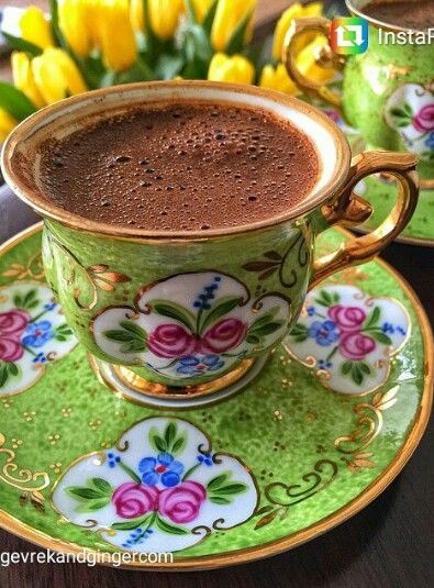 ✿ ❤Turkish coffee ☕ http://www.turkishstylegroundcoffee.com/turkish-coffee-recipe/ #turkishcoffee #turkishcoffeerecipe