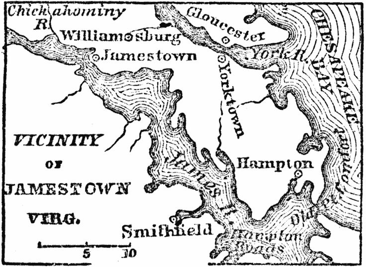 jamestown colony coloring pages