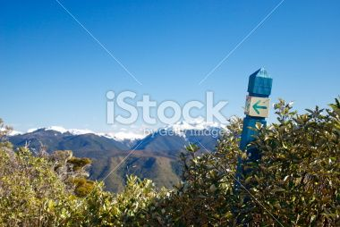 Takaka Hill Walkway, Tasman Region, New Zealand Royalty Free Stock Photo