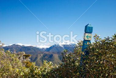 Takaka Hill Walkway, Tasman Region, New Zealand Royalty Free Stock Photo
