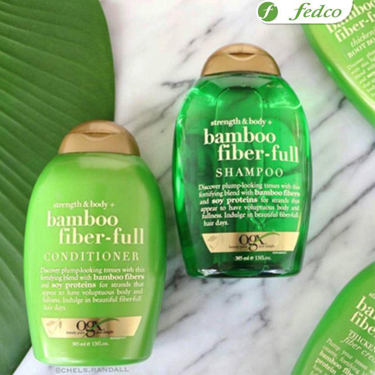 #MorningRitual  Cuida y conserva la belleza de tu pelo con la línea BAMBOO de OGX, productos especializados para nutrir, limpiar, suavizar y reparar.  ¡Conócelos en nuestra tienda virtual!