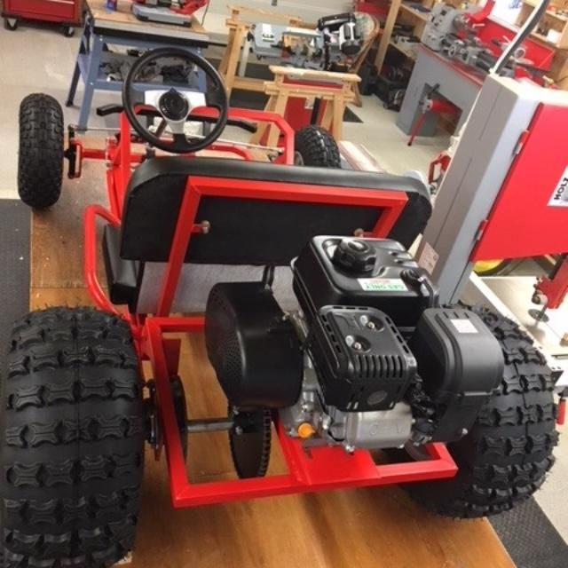 Lawn Mower Racing >> Deluxe Upgrade Live Axle Go-Kart Kit-- Frame not included ...