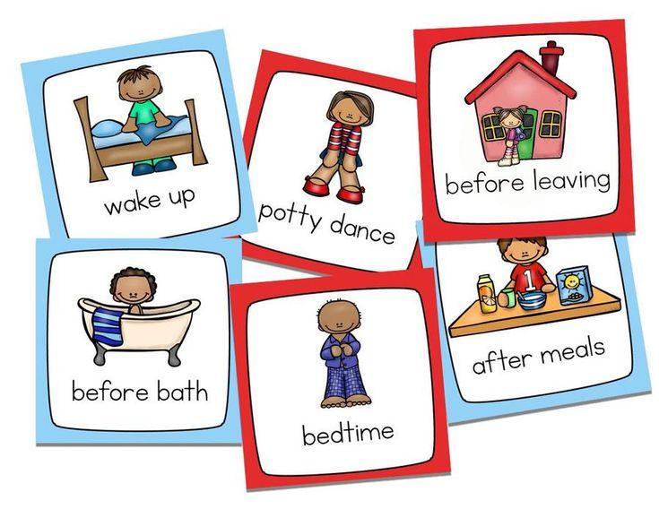 potty training visual schedule kit