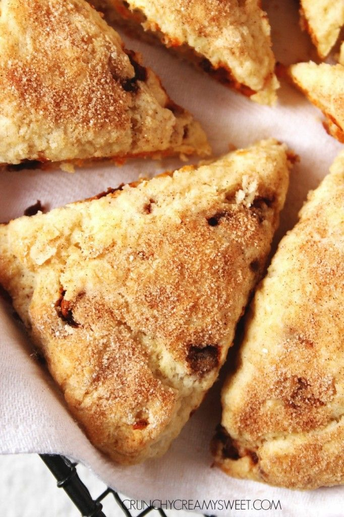Scones, Cinnamon chips and Cinnamon on Pinterest