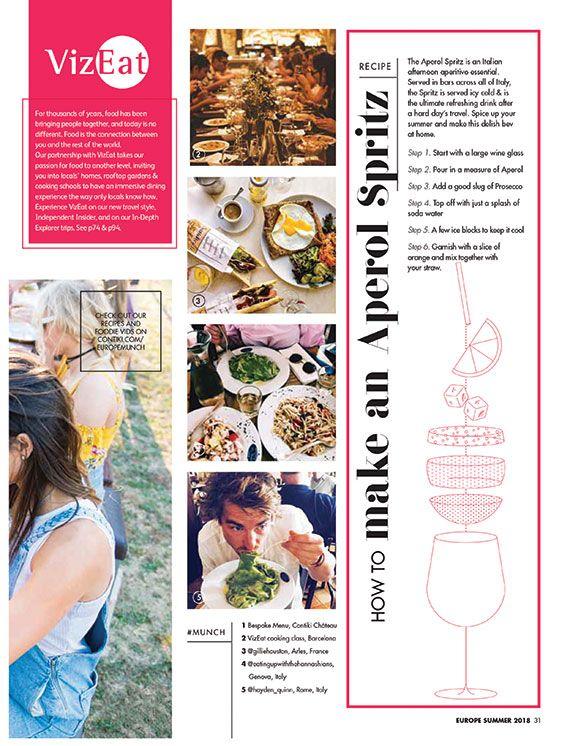 Best  Travel Brochure Ideas On   Travel Magazines