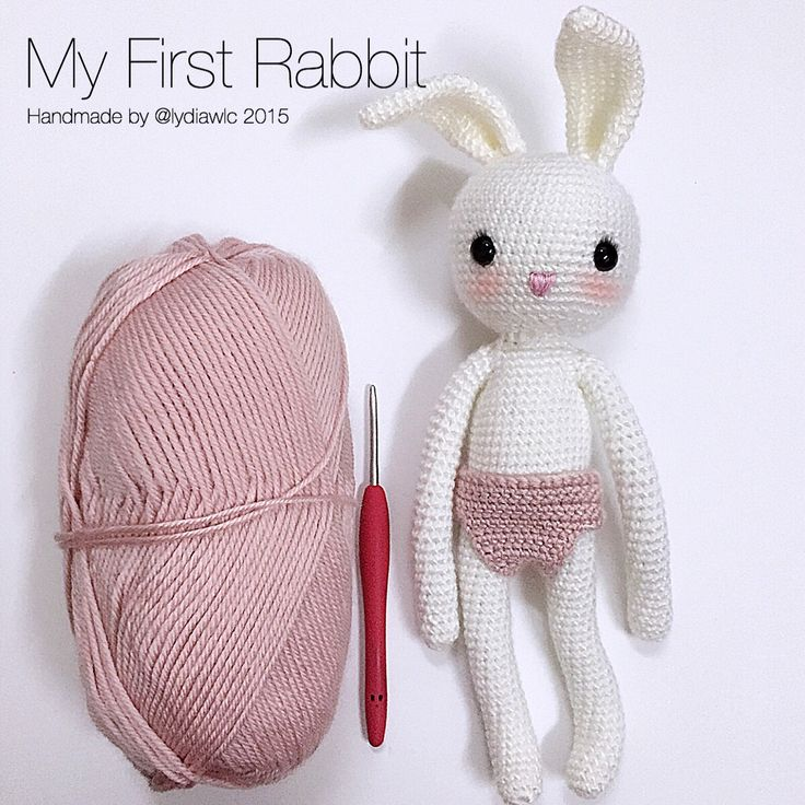 My crochet animal @ Rabbit