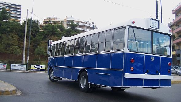 VOLVO GREEK OLD URBAN BUS