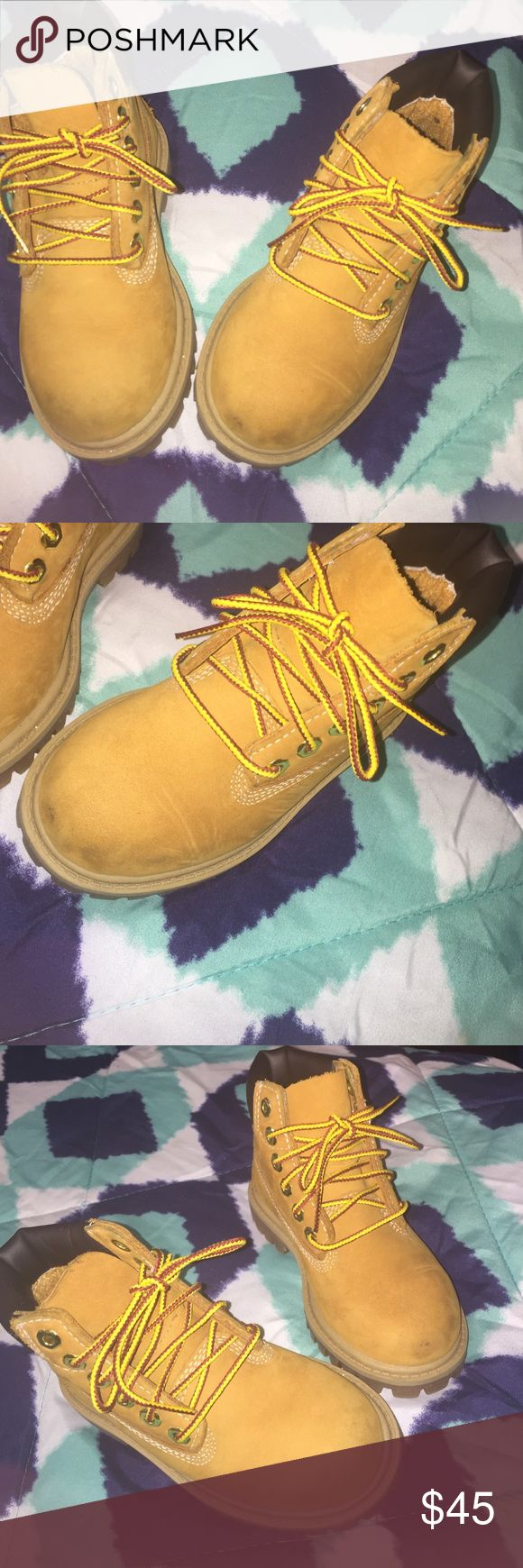 Toddler butter timberland Gently used butter timberland boots for toddler Timberland Shoes Boots
