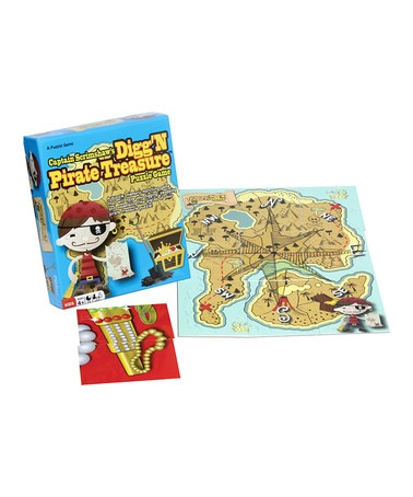 Take a look at this Continuum Games Digg'n Pirate Treasure Game by Family Game Night Collection on #zulily today!