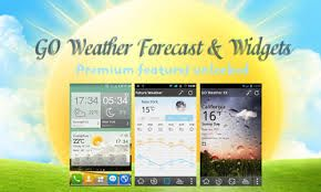 GO Weather Forecast & Widgets Android App Description: This amazing app is the widget-only app. This app has been developed by the Francois Deslandes, a well known creator of a variety for customize widgets for the Android which include the calendar, the news messengers and managers & also music widgets.