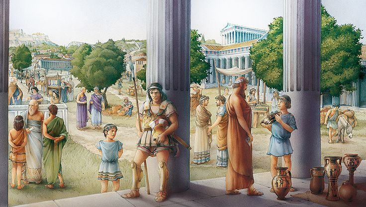 Athens in Classical Greece by Claudia Saraceni