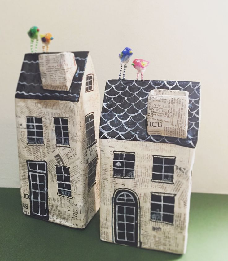 how to make a paper mache money box