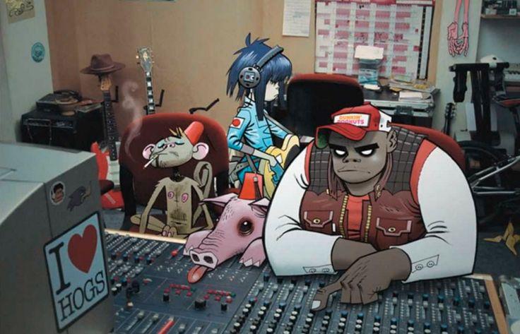 El nuevo álbum de Gorillaz, en camino