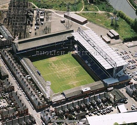 Filbert Street, Leicester City's old home