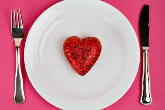 Food is our first Love wink emoticon Happy Valentine's Day to each one of you Foodies!