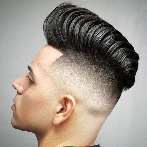 how to grow out a pompadour
