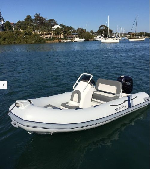 Highfield 390 Classic #highfield #390 #classic #tender #motorboat #dinghy #rubberboot #powerboat #RIB #zodiac #inflatable #rigidinflatable