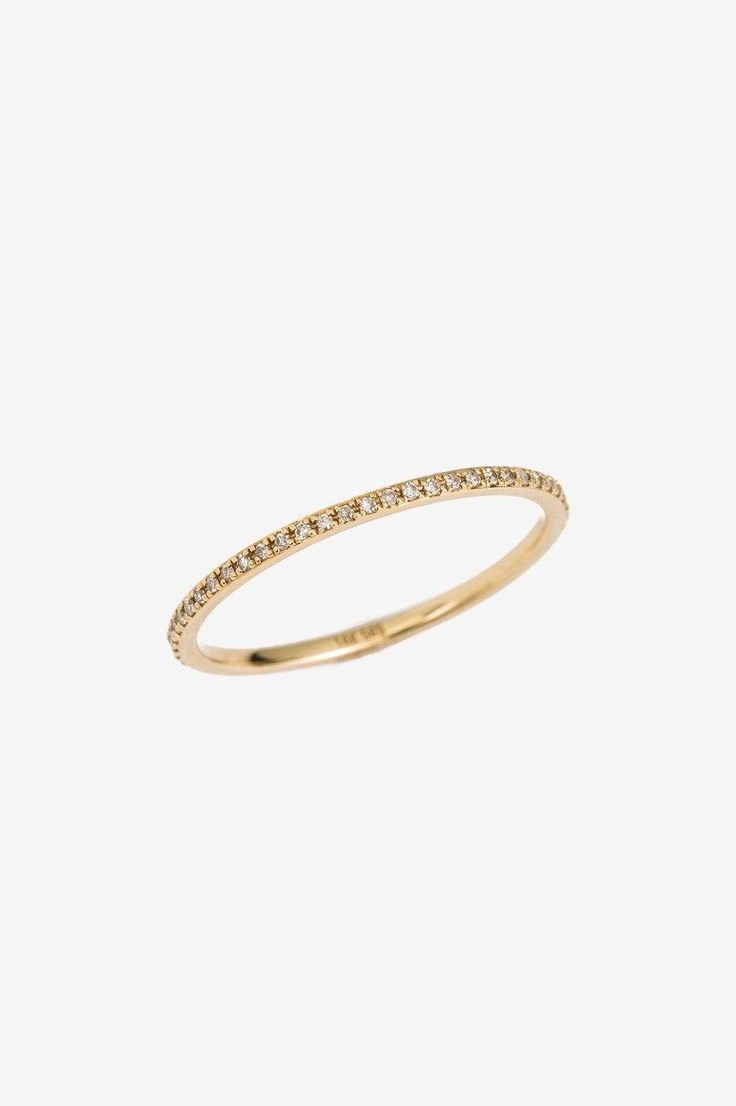 Mini Eternity Ring - ANINE BING