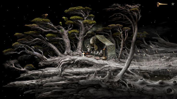 Amanita Design, Samorost 3 - Tea Tent