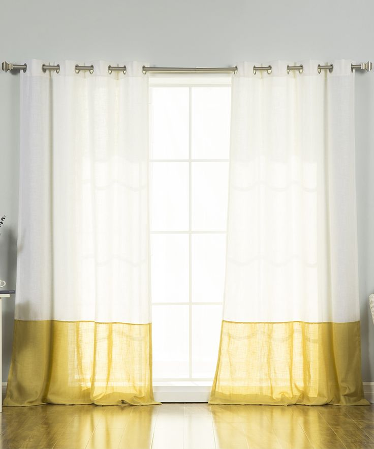 25 Best Ideas About Color Block Curtains On Pinterest Diy Curtains Custom Curtains And