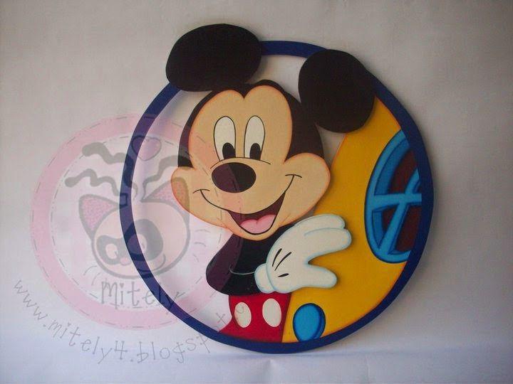Aplique para la puerta de Mickey  #mitely #mickey #disney #niños #decoracionniños #bebes