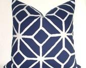 royal blue: Trina Turk, Pillows Etsy, Decorative Pillows, Sofa Pillows, White Pattern, Throw Pillows, Bedroom