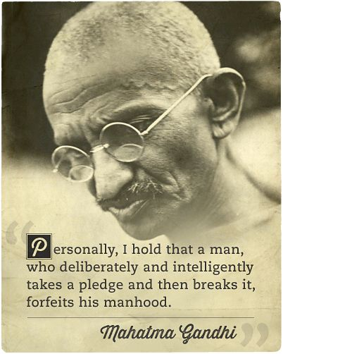 The Art of Manliness Die Tomorrow, Mahatma Gandhi, Gandhi Live, Quotes ...