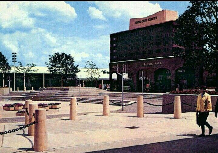 River Oaks, Calumet City, IL when it was an open mall.