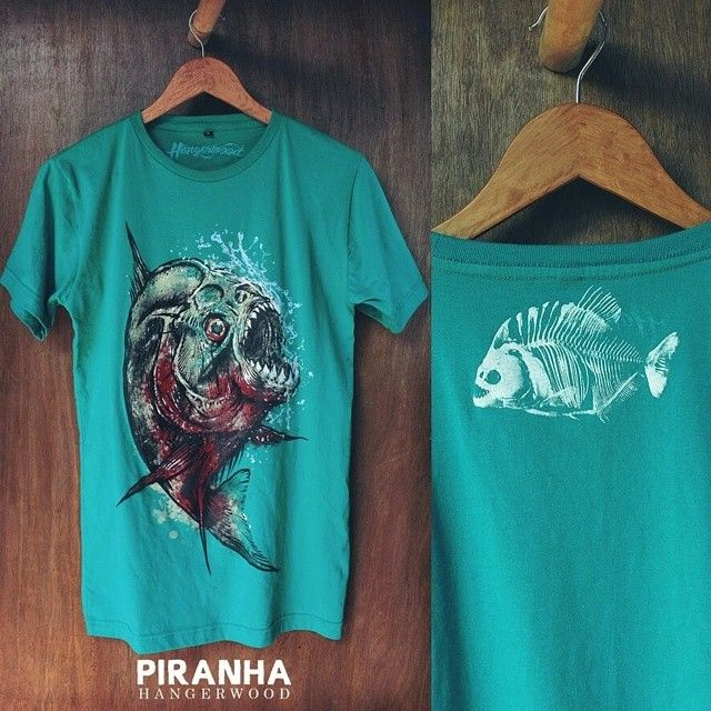 Hangerwood T Shirt Piranha