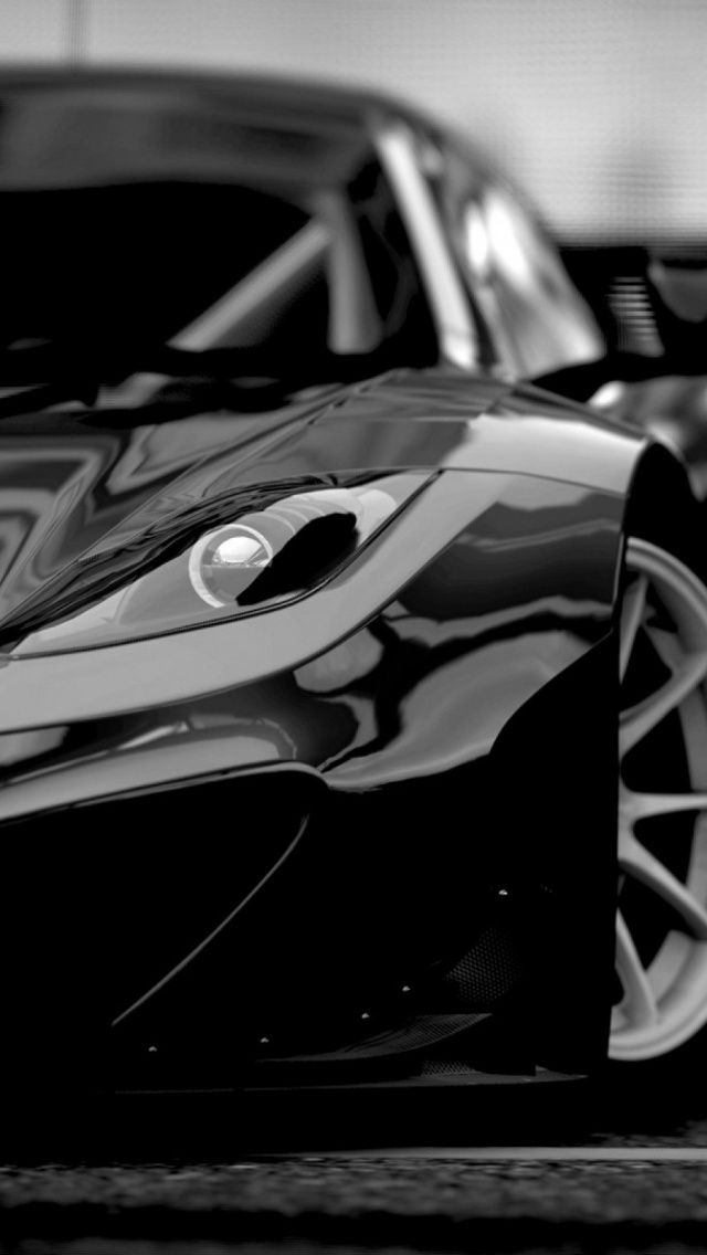 Black Super Sports Car Iphone Wallpaper Http Freebestpicture