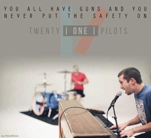 Twenty One Pilots... So seeing them next Thursday! CAN'T WAIT!!!!!