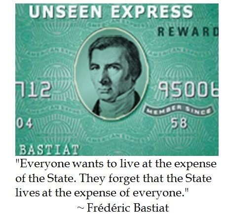 """frederic bastiats essay what is seen and what is unseen. Frédéric bastiat described this phenomenon in 1850 in his ground-breaking essay """"what is seen and what is not seen"""": in the economic sphere, an act, a habit, an institution, a law produces not only one effect, but a series of effects."""