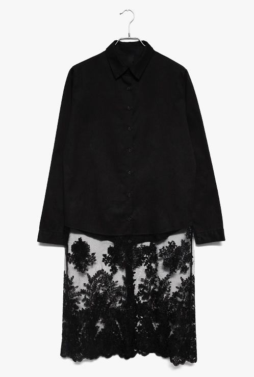 [OS] shoulder-about 39.5cm, bust-about 102cm, the length of garment-about 108cm, the width of the sleeve-about 32cm, the length of the sleeve-about 61cm 122.00