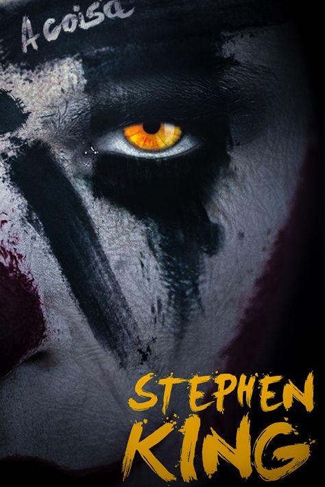 Capa do livro It, A Coisa de Stephen King criada pelo designer Murilo Guerra